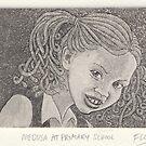 Medusa at primary school by SnakeArtist