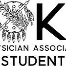 «Escudo de estudiante asociado de médico de Oklahoma» de annmariestowe