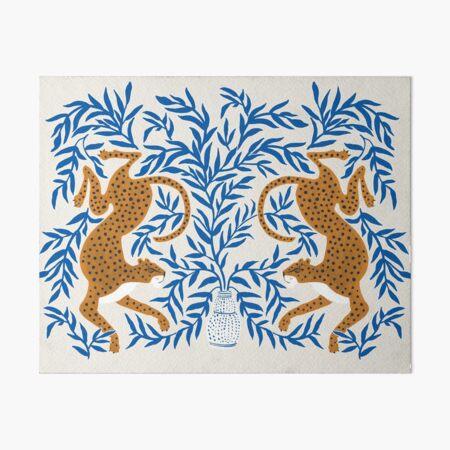 Jungle Jaguar Art Board Print