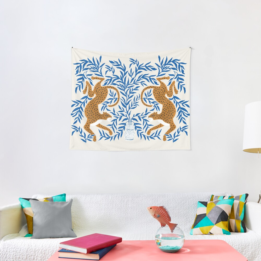 Jungle Jaguar Tapestry