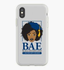 BAE- Black and Educated Bachelor's Degree iPhone Case