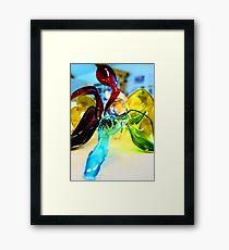 Abstract model Framed Print