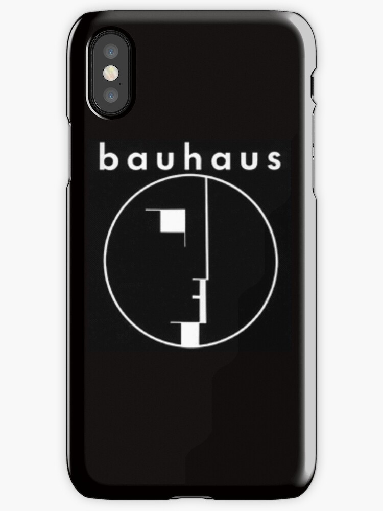 bauhaus band logo iphone cases skins by gothicmaster redbubble. Black Bedroom Furniture Sets. Home Design Ideas