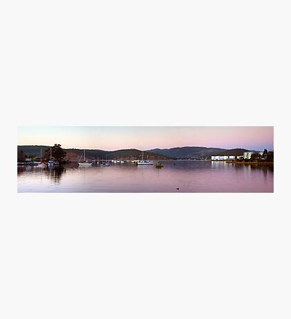 Twilight - New Town Bay Photographic Print