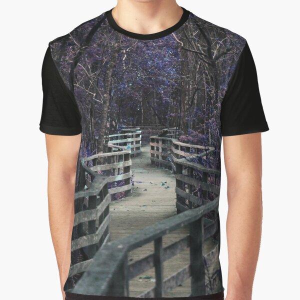 Shipwreck Charlie - Cut Like Glass Graphic T-Shirt
