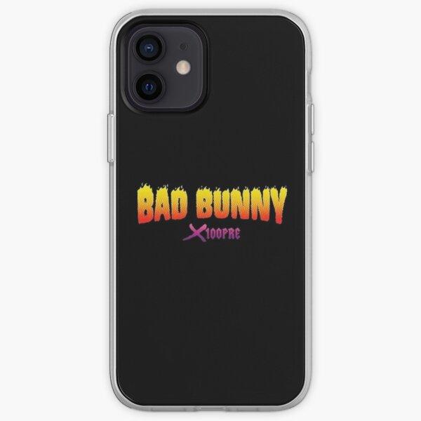 Bad Bunny X100pre Funda blanda para iPhone