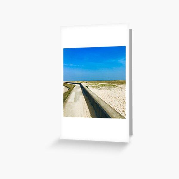 Clacton Beach greenery ( Clacton 2019) Ben Hattrell  Greeting Card