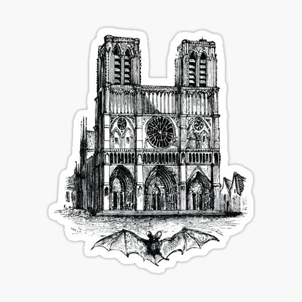 Notre-Dame de Paris #NotreDameinParis #NotreDamedeParis #NotreDame Sticker