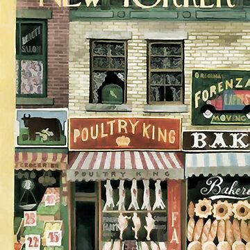 Vintage New Yorker Cover - Circa 1947 by marlenewatson