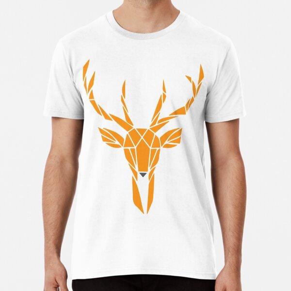 Geometric Reindeer Premium T-Shirt