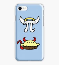 Devil Pie and Angel Pi iPhone Case/Skin