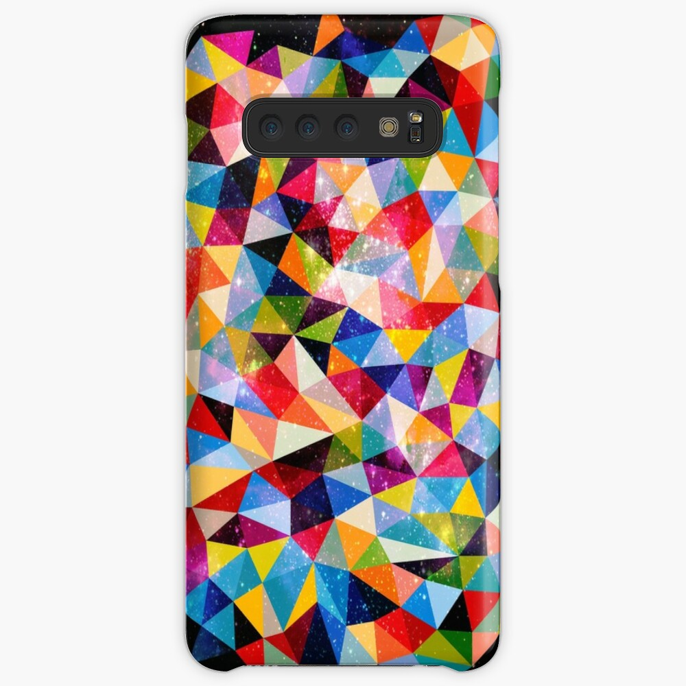 Space Shapes Case & Skin for Samsung Galaxy