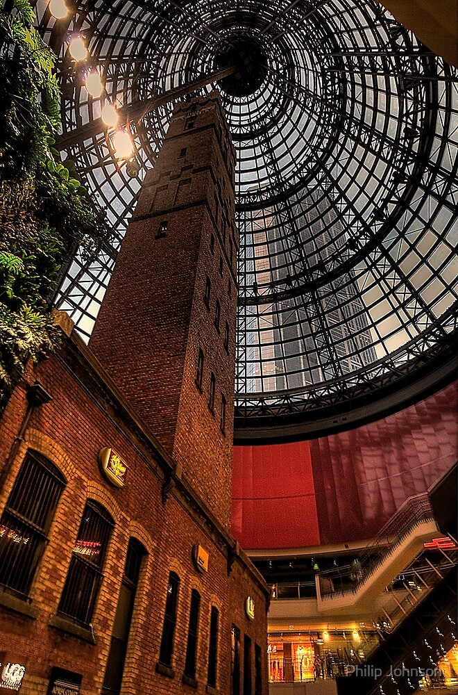 Shot in Time - Coops Shot Tower ,Melbourne - The HDR Experience by Philip Johnson