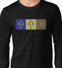 RETRO ROBOTS Long Sleeve T-Shirt