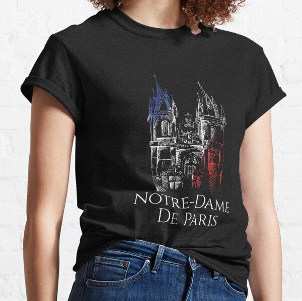 Notre Dame Cathedral De Paris Shirt, Notre-Dame De Paris Cathedral Shirt Classic T-Shirt