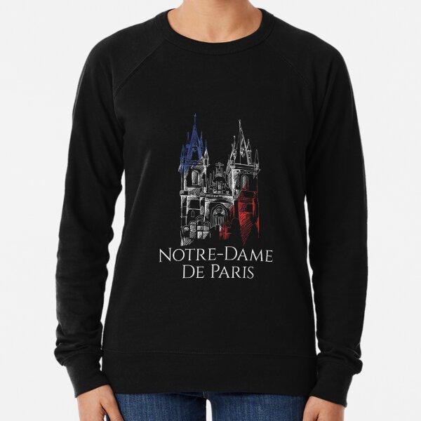 Notre Dame Cathedral De Paris Shirt, Notre-Dame De Paris Cathedral Shirt Lightweight Sweatshirt