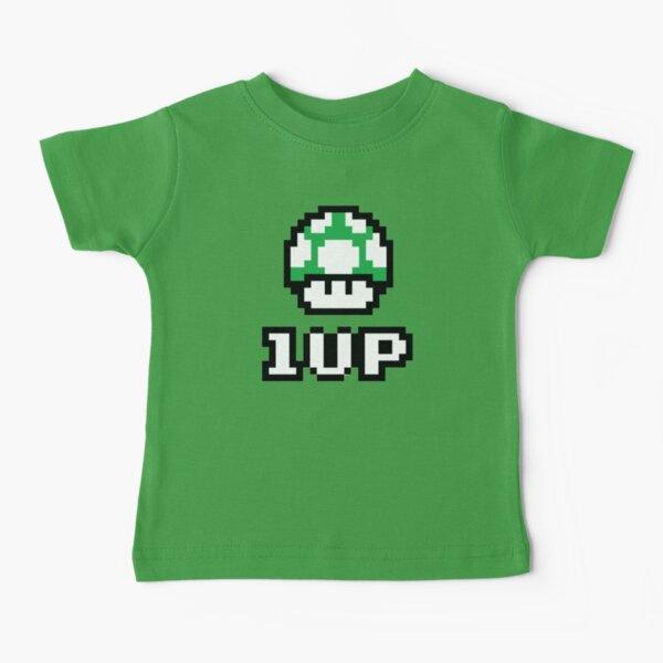Kids 1-UP Mushroom Baby T-Shirt