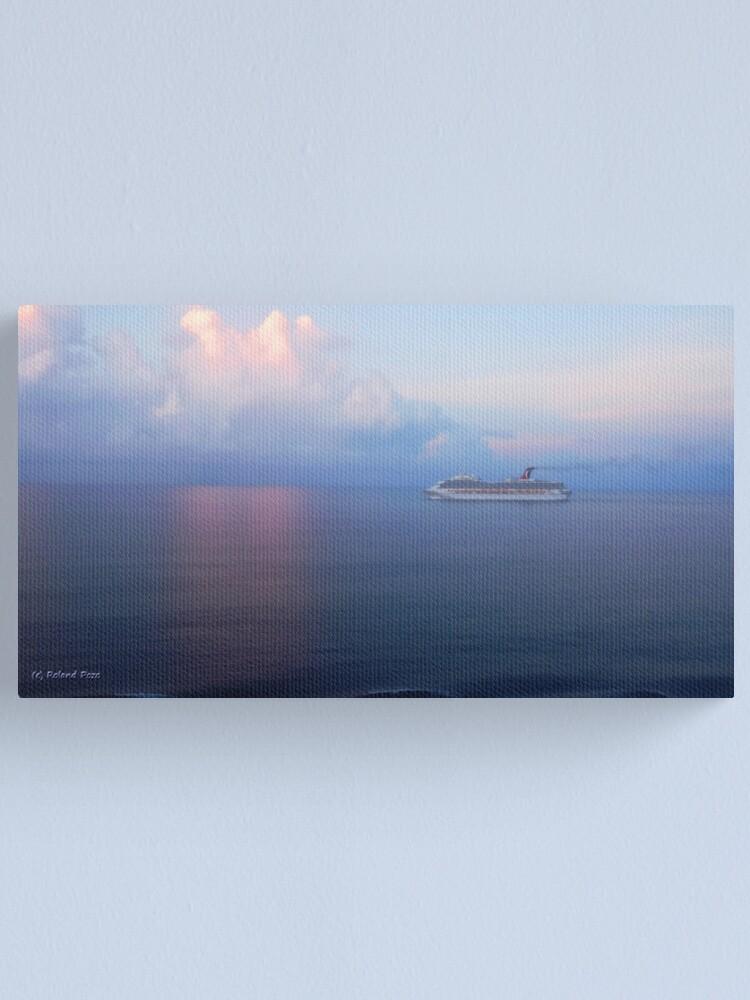 Alternate view of Sunrise at Sea Canvas Print
