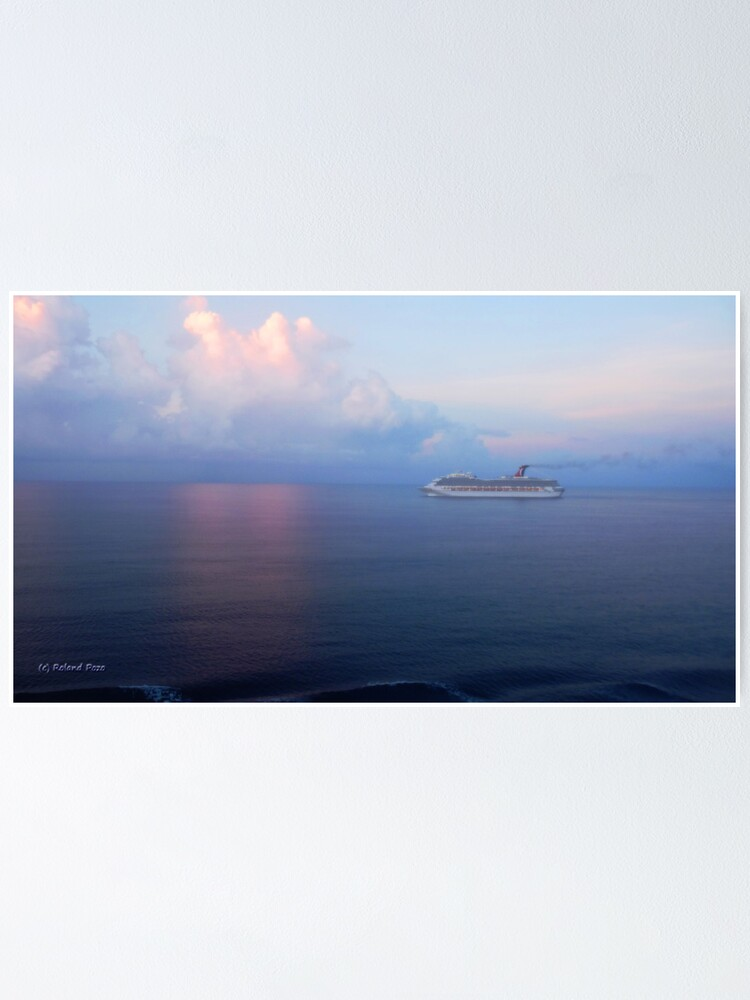 Alternate view of Sunrise at Sea Poster