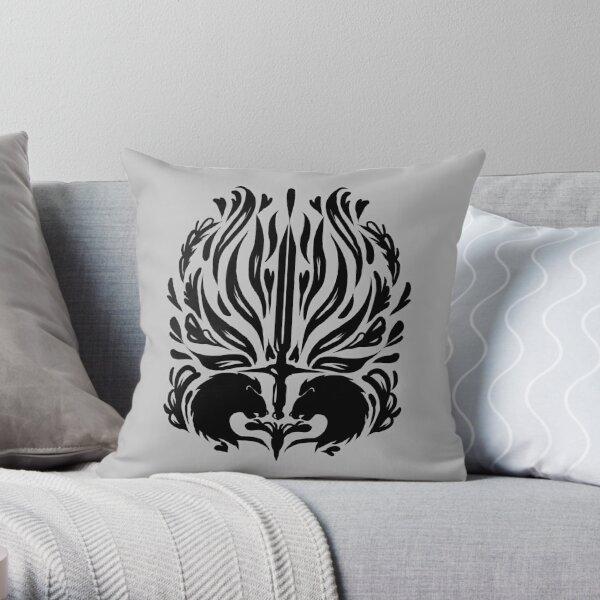 cullen romance tattoo  Throw Pillow
