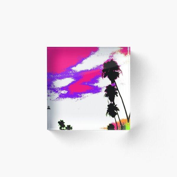 Palms Design #9 Acrylic Block