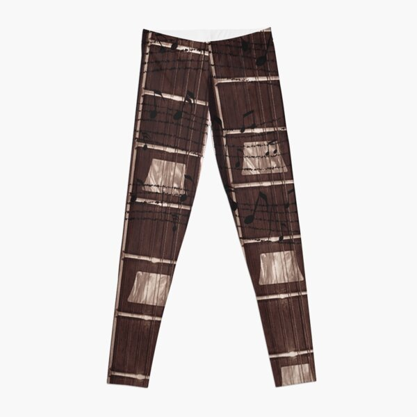 Fret Legs Guitar Fretboard Prints Leggings