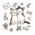 «Gatos enamorados» de Anna Syroed