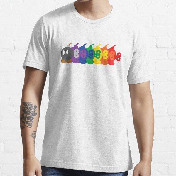 Bob-Omb Rainbow Essential T-Shirt