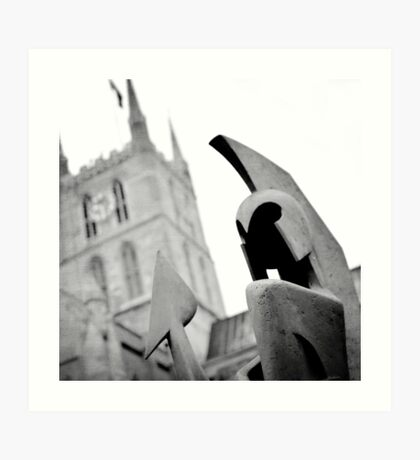 southwark cathedral Art Print