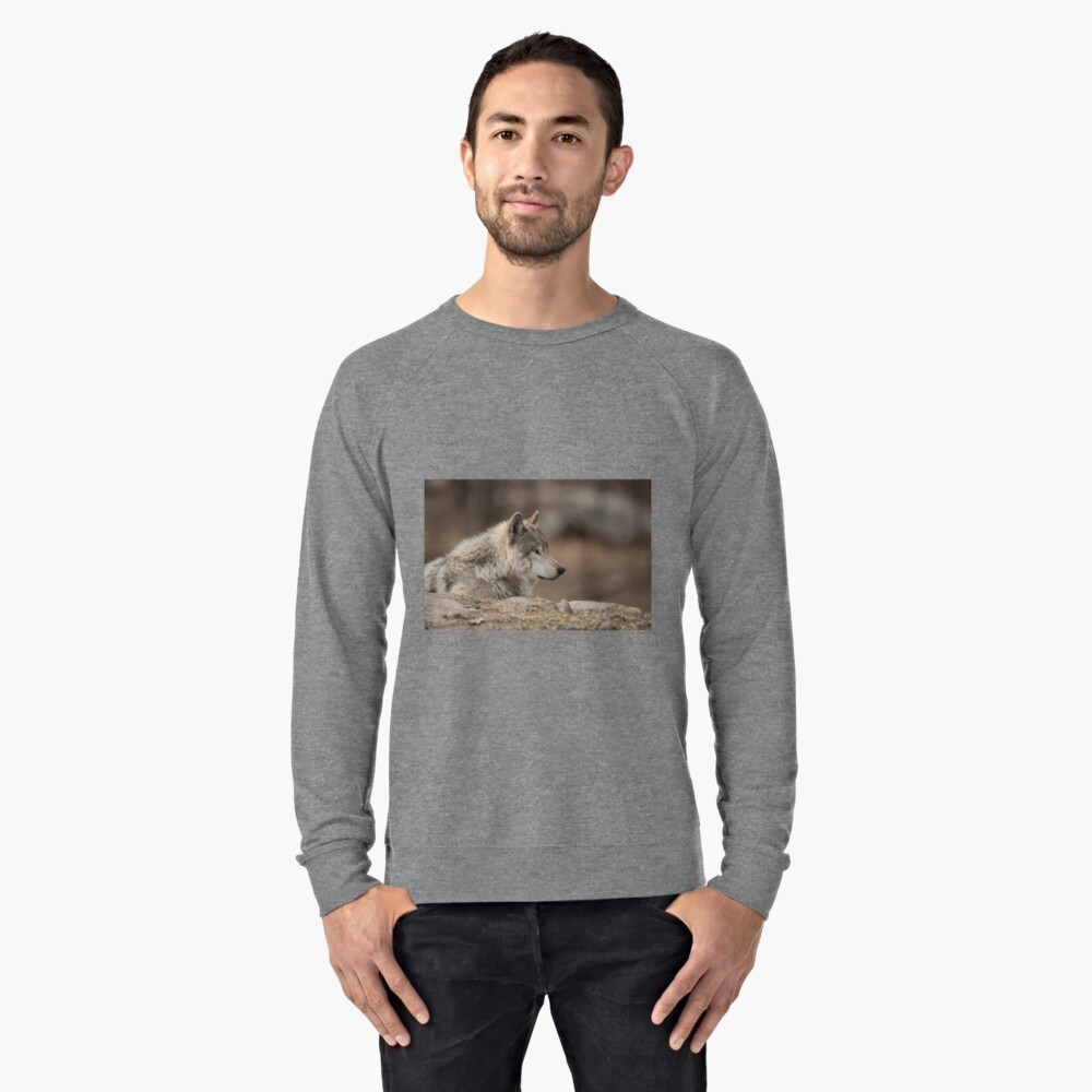 Timber Wolf Lightweight Sweatshirt Front