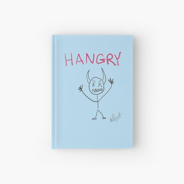 Crazy Sticks: Hangry Hardcover Journal
