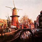 Utrecht Windmill I by Cameron Hampton