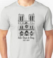 Notre-Dame de Paris Slim Fit T-Shirt