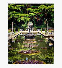 The Roman Gardens Photographic Print