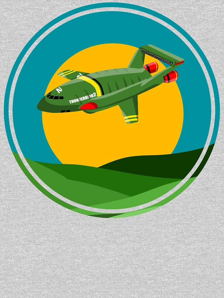 Thunderbird 2 THUNDERBIRDS by LICENSEDLEGIT