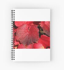 Simply Red Spiral Notebook