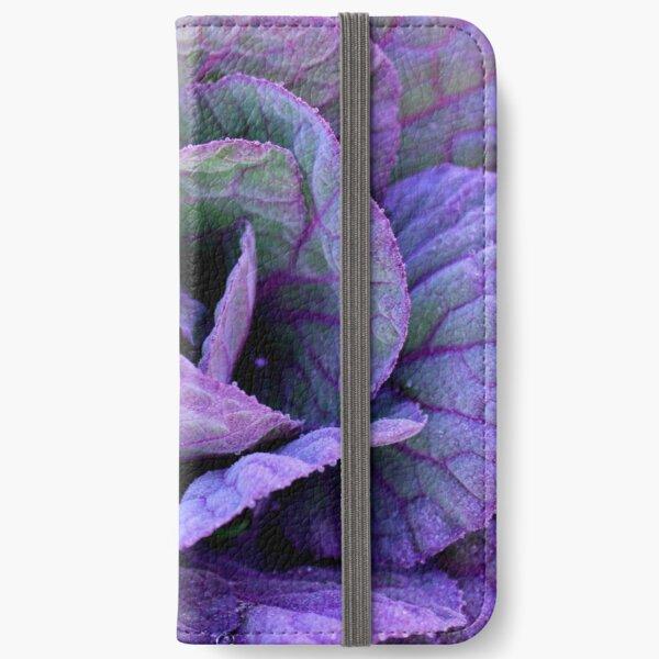Purple Frost iPhone Wallet
