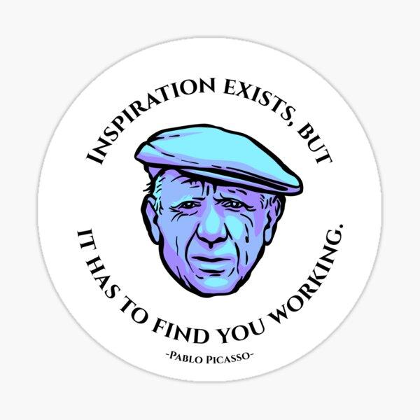 Picasso - Meaningwave Sticker