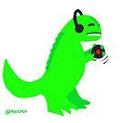 DJ Rex by mikepop