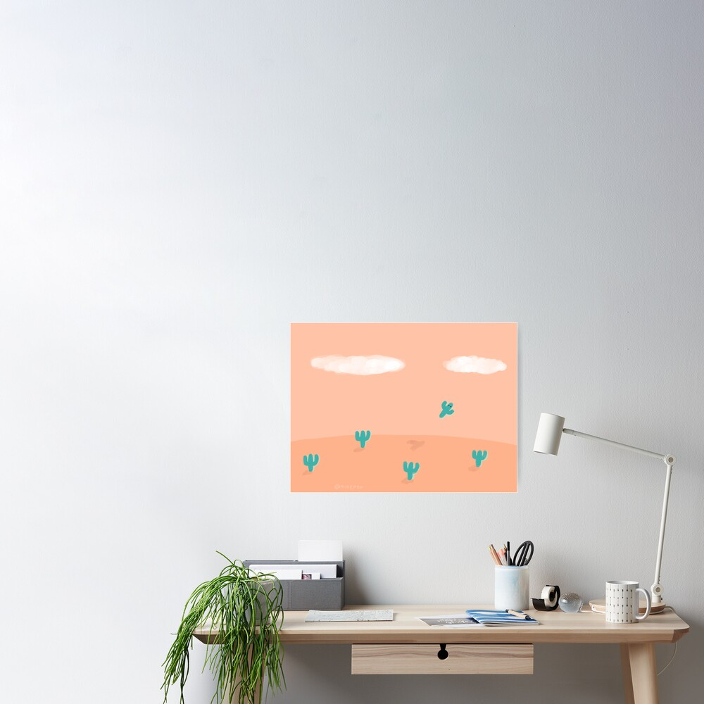 The Flying Cactus Poster