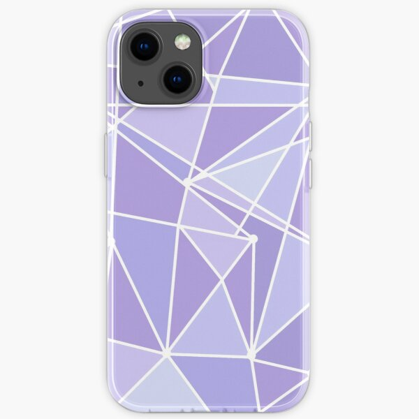 Purple Galactic Wall iPhone Soft Case