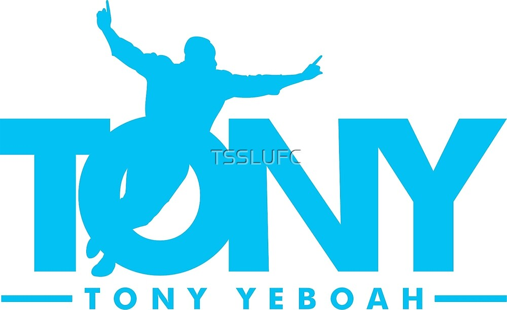 Tony Yeboah by TSSLUFC
