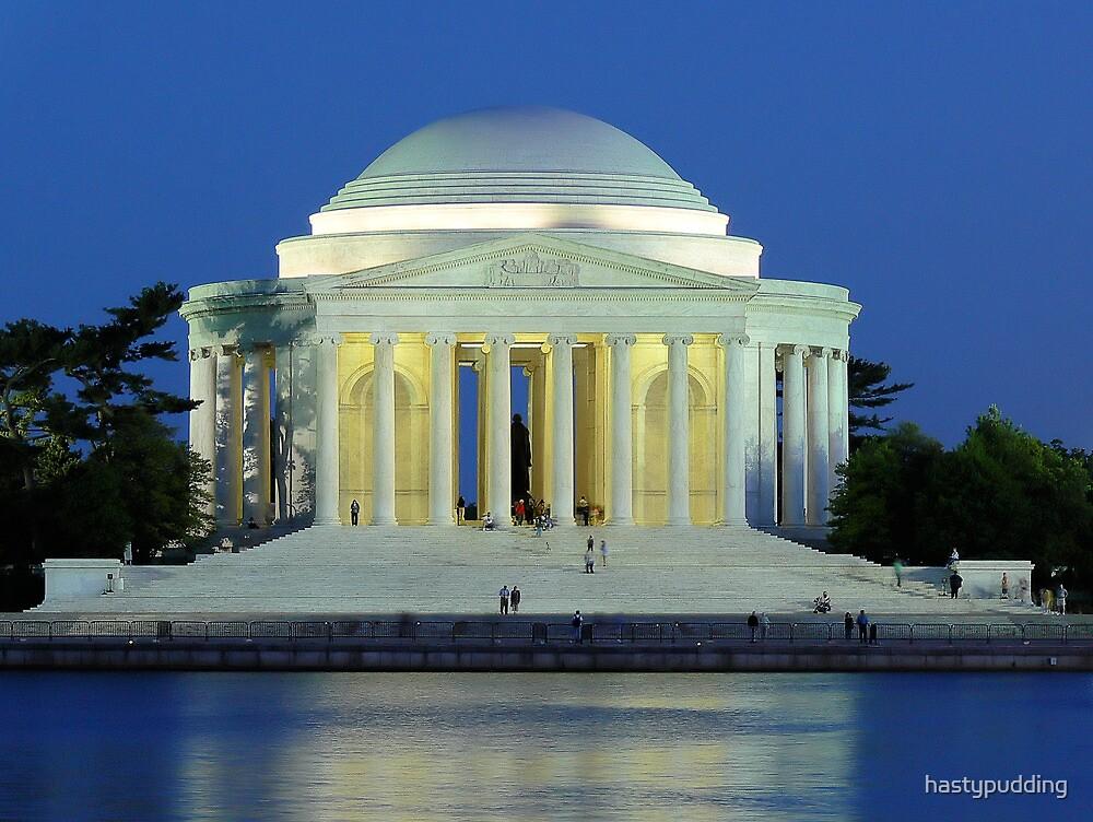 Thomas Jefferson Memorial-Washington, DC by hastypudding