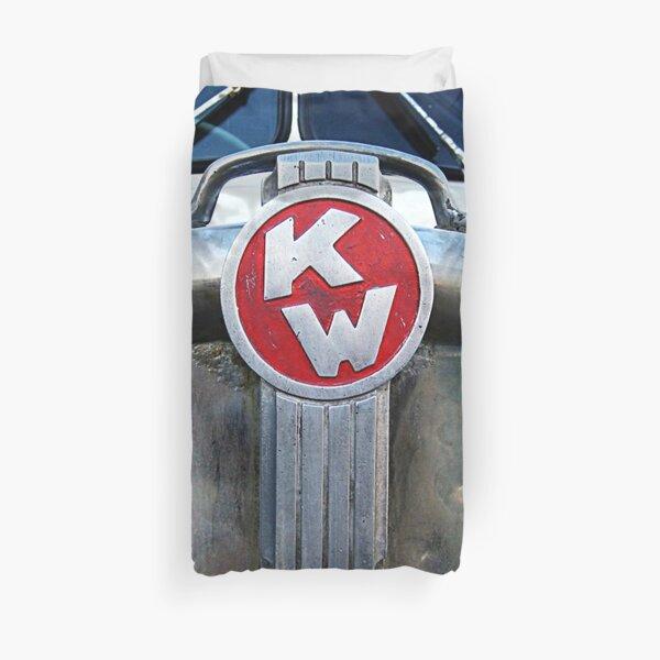Kenworth emblèmes rétro Housse de couette