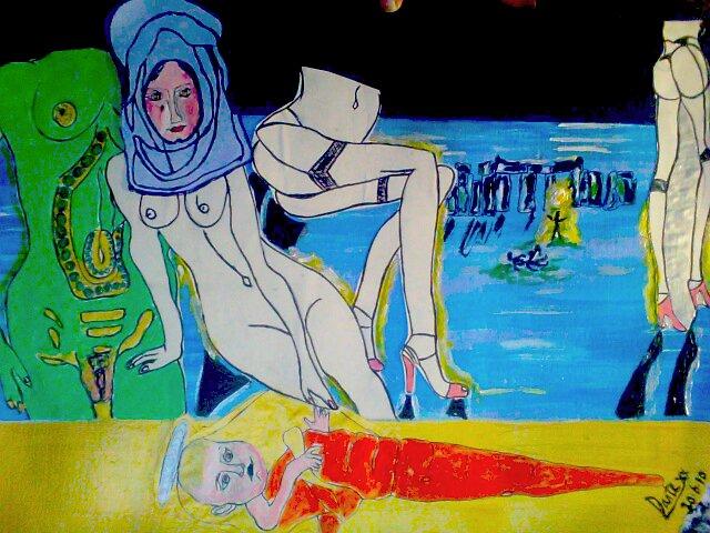 Objectification of women in art by Dante xx 20/6/10  by tim norman