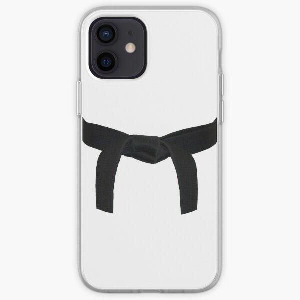 Martial Arts Black Belt iPhone Soft Case