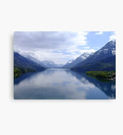Beautiful Waterton Canvas Print