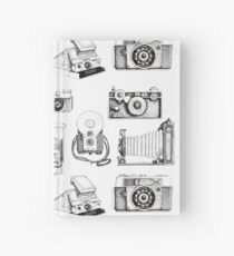 Vintage Camera Collection Hardcover Journal