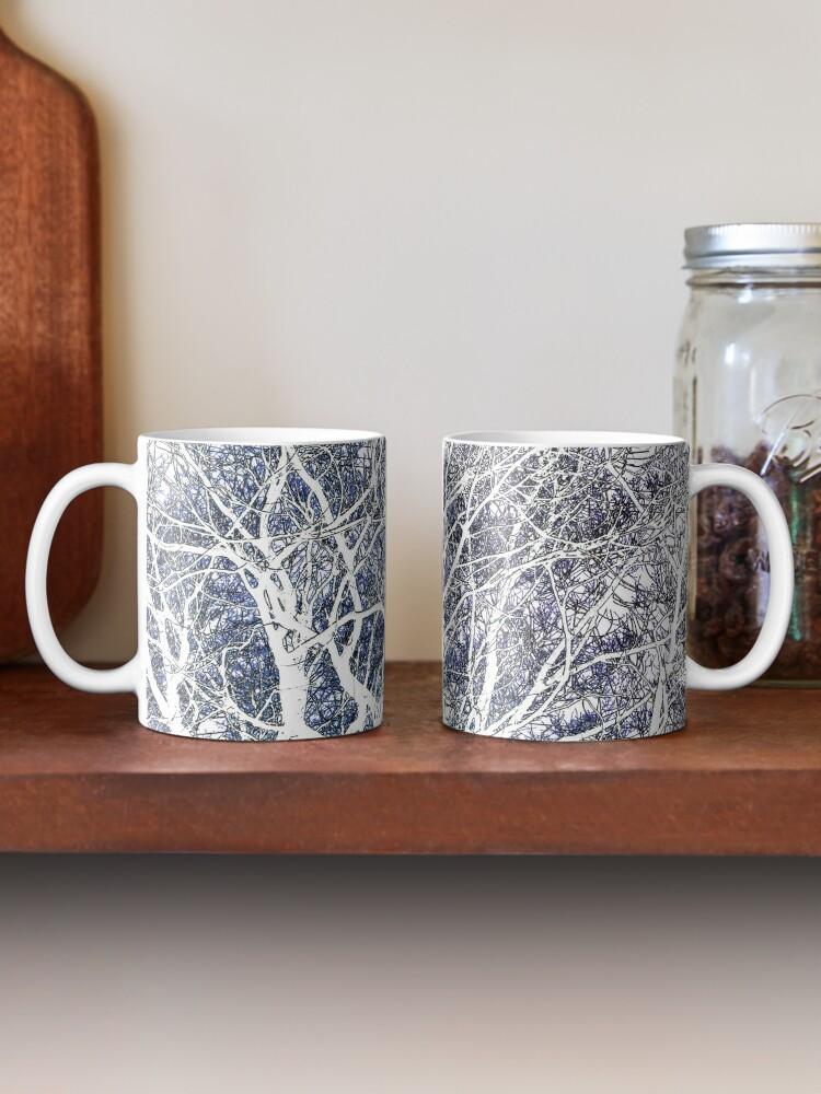 Alternate view of Violet forest Mug