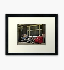 Comfy chair Framed Print